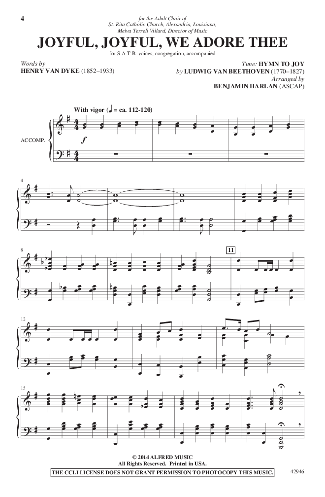 HymnFest (SATB Singer's Edition ) by Be | J W  Pepper Sheet