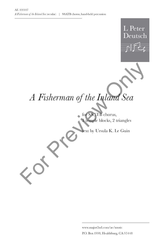 ... A Fisherman of the Inland Sea Thumbnail ...
