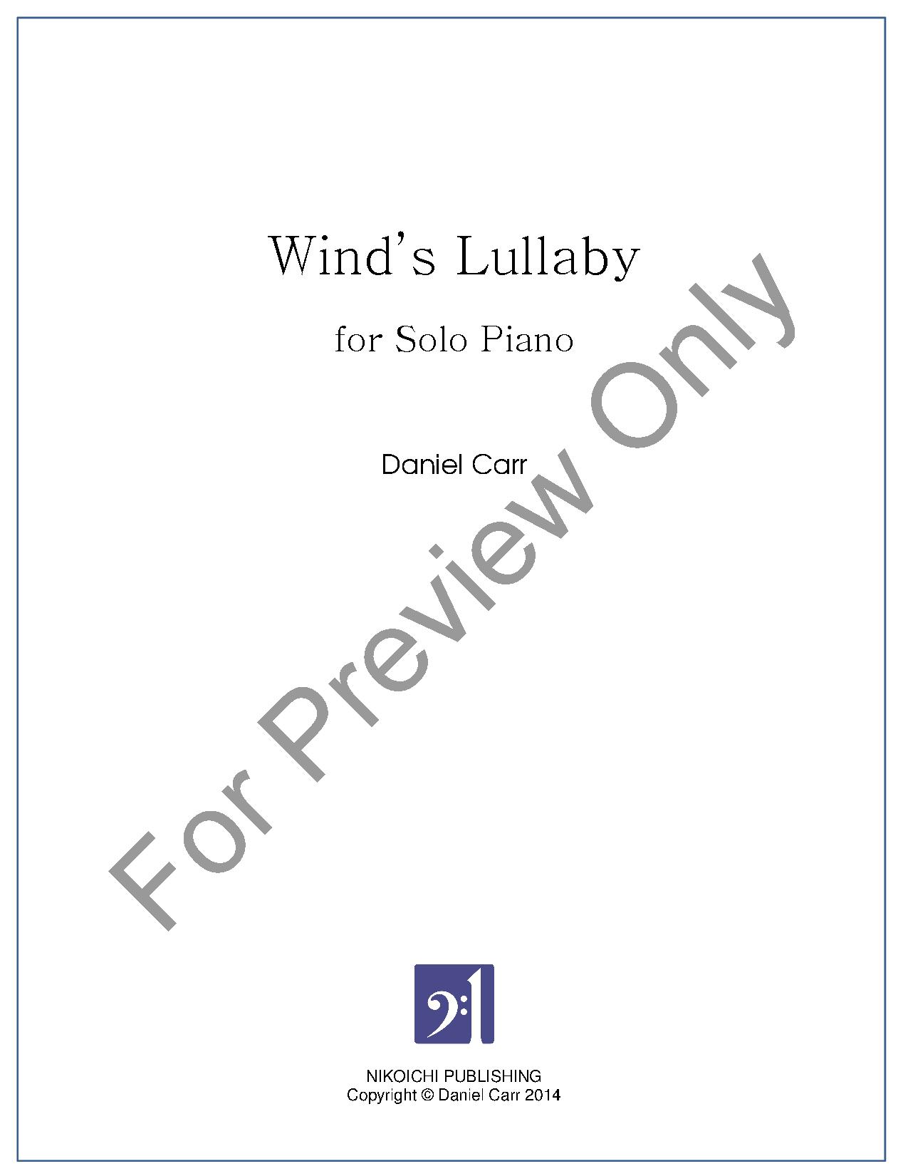 Wind's Lullaby Thumbnail