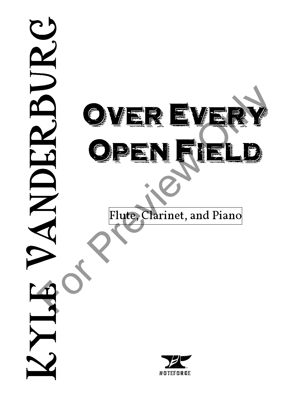 Over Every Open Field Thumbnail
