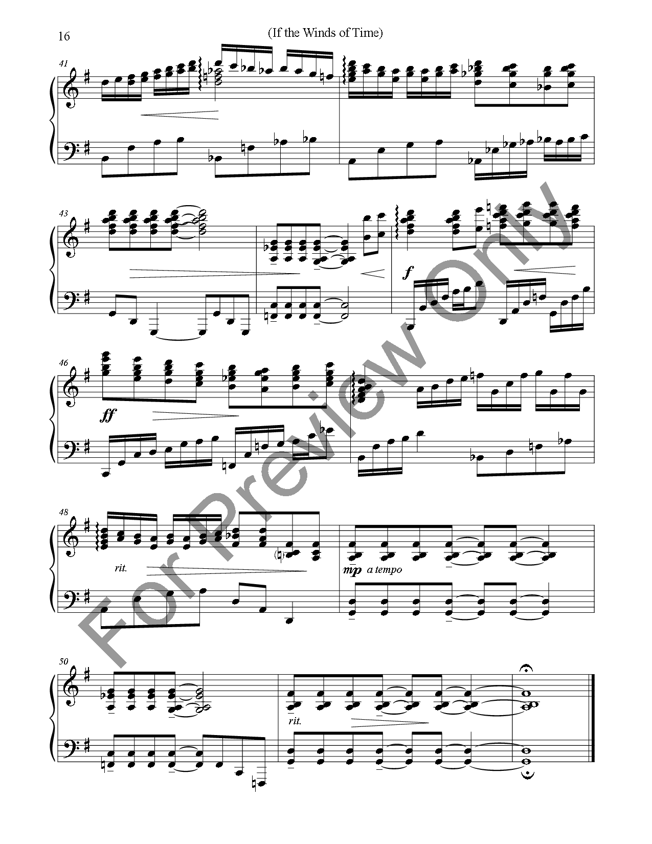 Like a Dream Flying By (Piano Book) Thumbnail