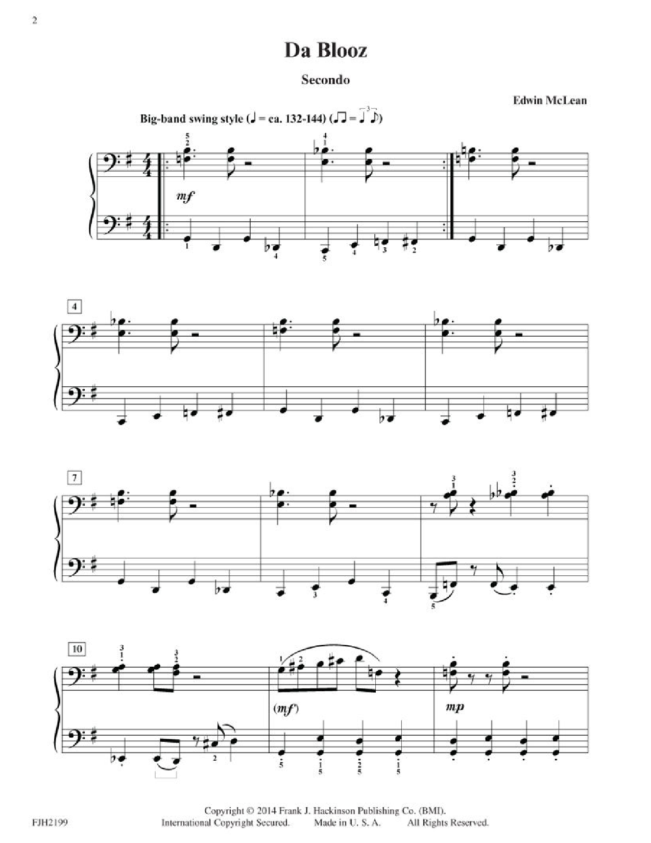 In the Key of Jazz - Duets (Piano) by Kevin Olson | J W  Pepper