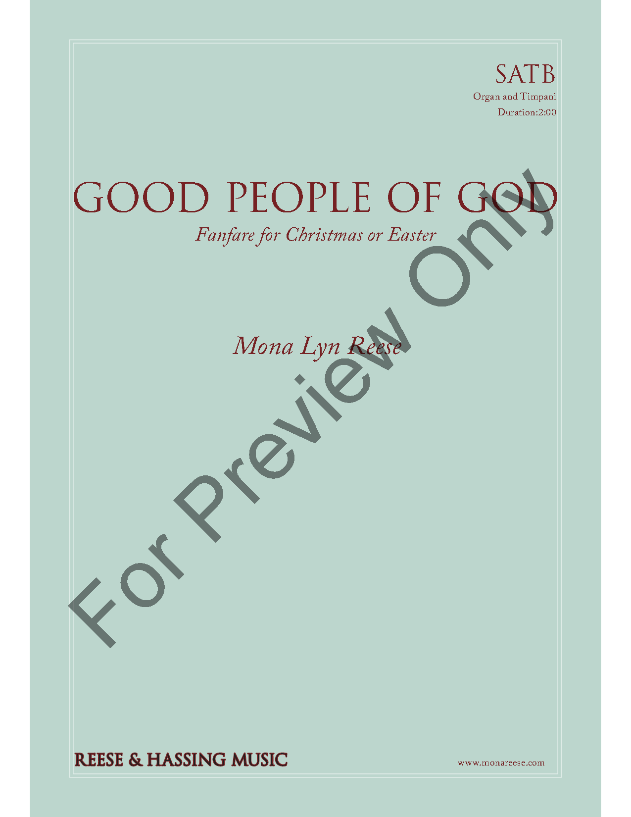 Good People of God Thumbnail