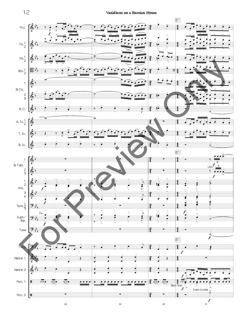 Variations on a Russian Hymn Thumbnail