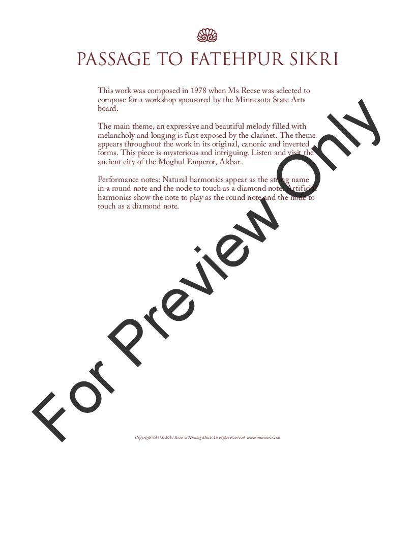 Passage to Fatehpur Sikri Thumbnail