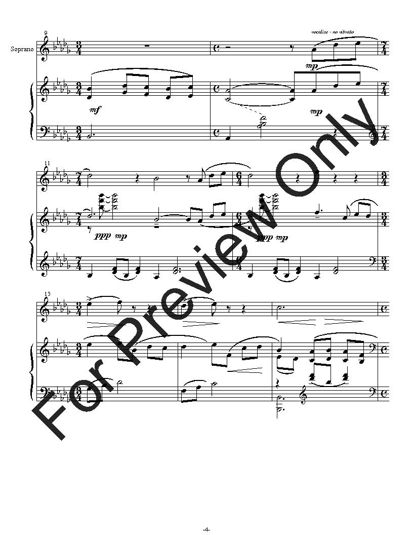 Aki - Vocalise for Soprano and Piano Thumbnail