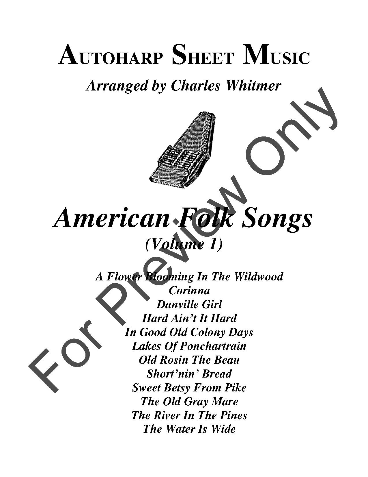 American Folk Songs, Vol. 1 Thumbnail