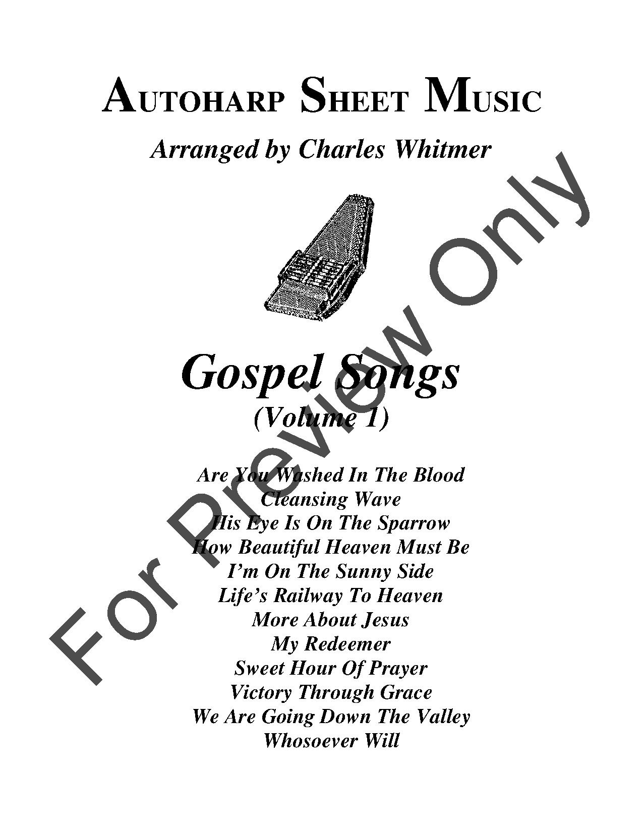 Gospel Songs, Volume 1 by Various / Charles Whitm | J W