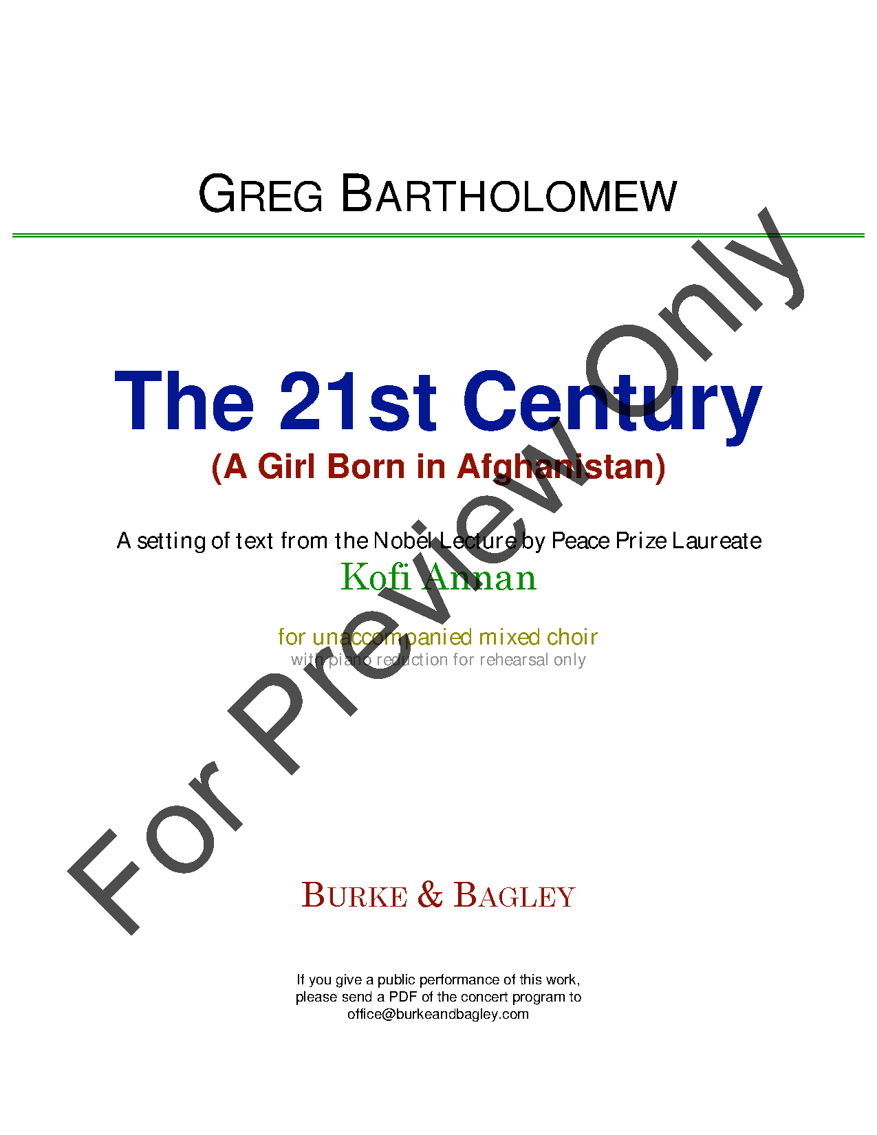 The 21st Century (A Girl Born in Afghanistan) Thumbnail