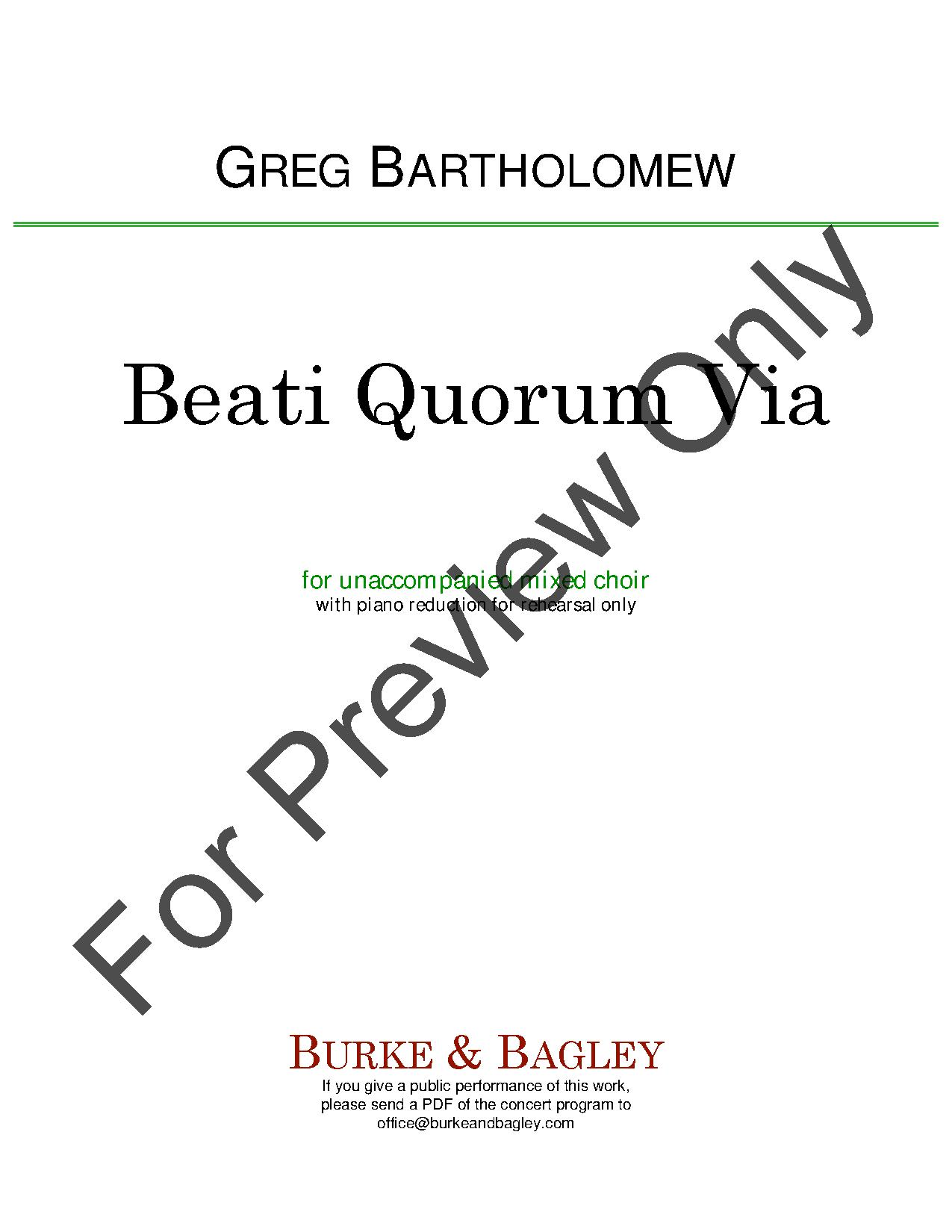 Beati Quorum Via Thumbnail