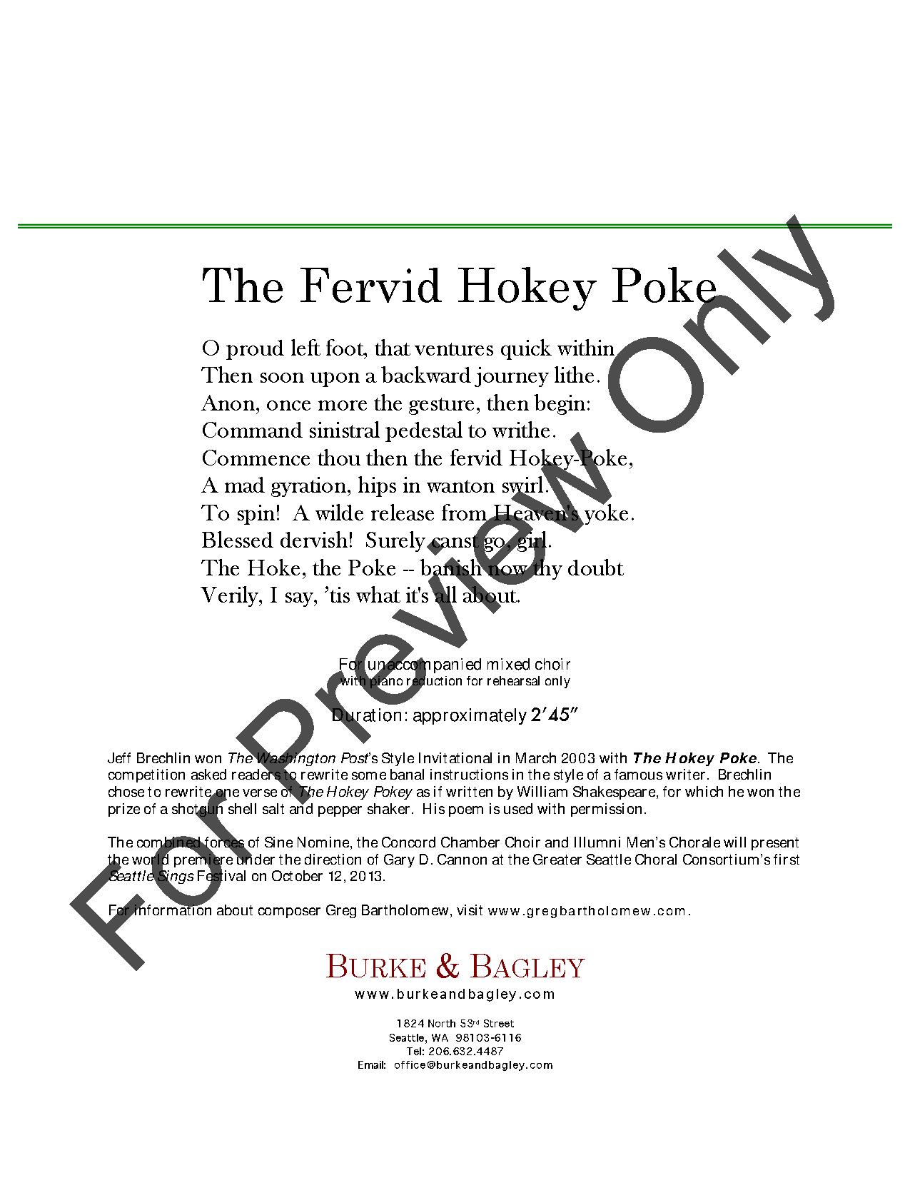 The Fervid Hokey Poke Thumbnail