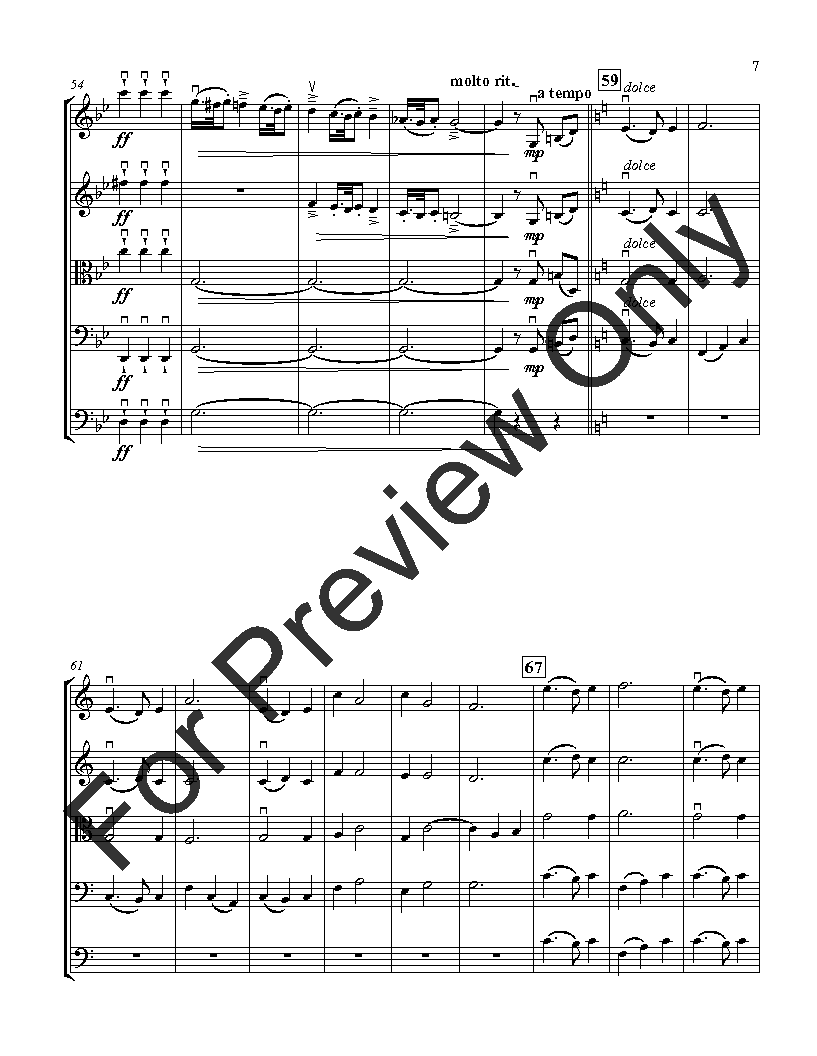A Tonal Prelude for String Orchestra Thumbnail