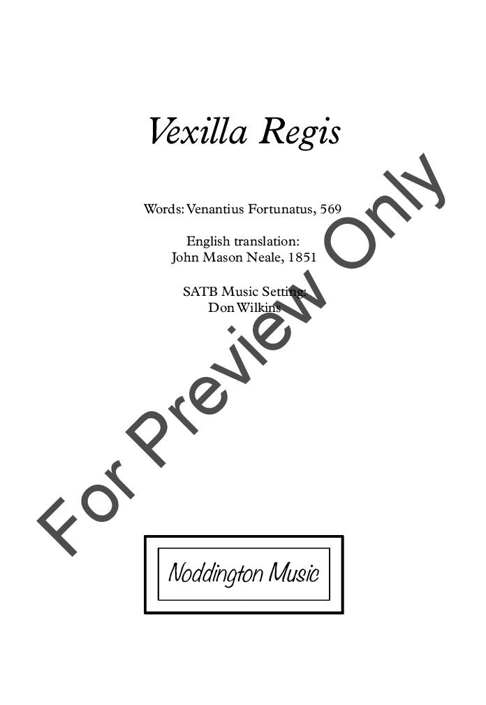 Vexilla Regis Thumbnail