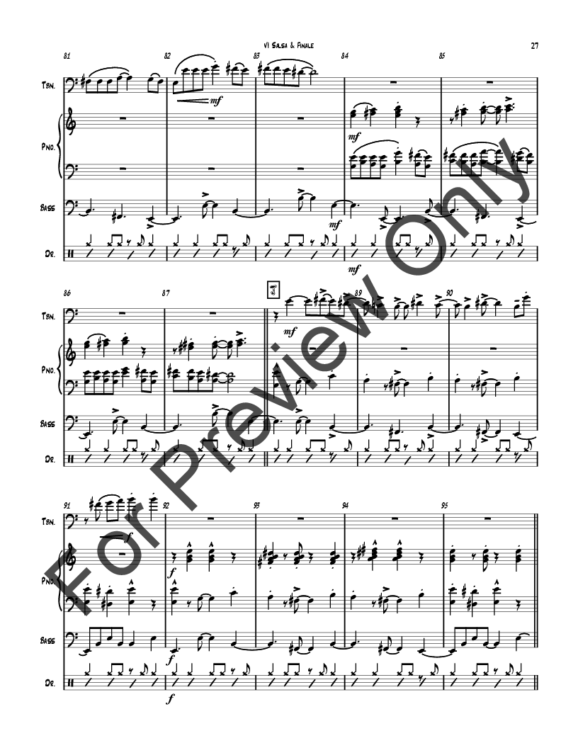Trombone Tales, Concerto for Trombone and Orchestra Thumbnail
