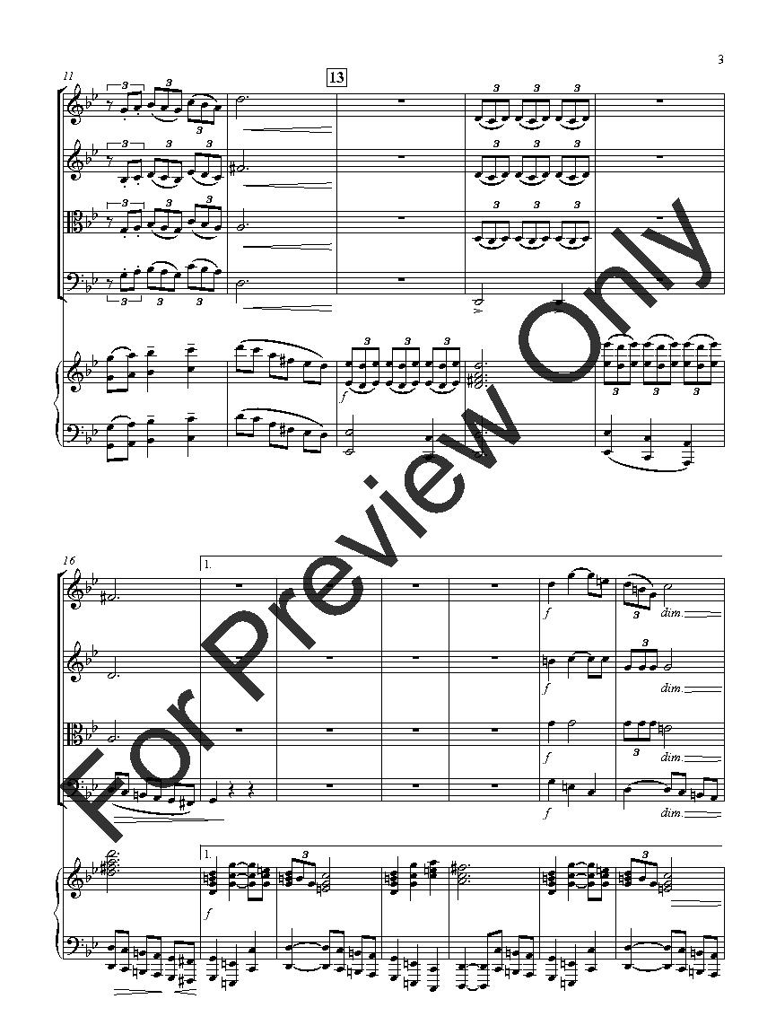 A Tonal Prelude for Piano Quintet Thumbnail