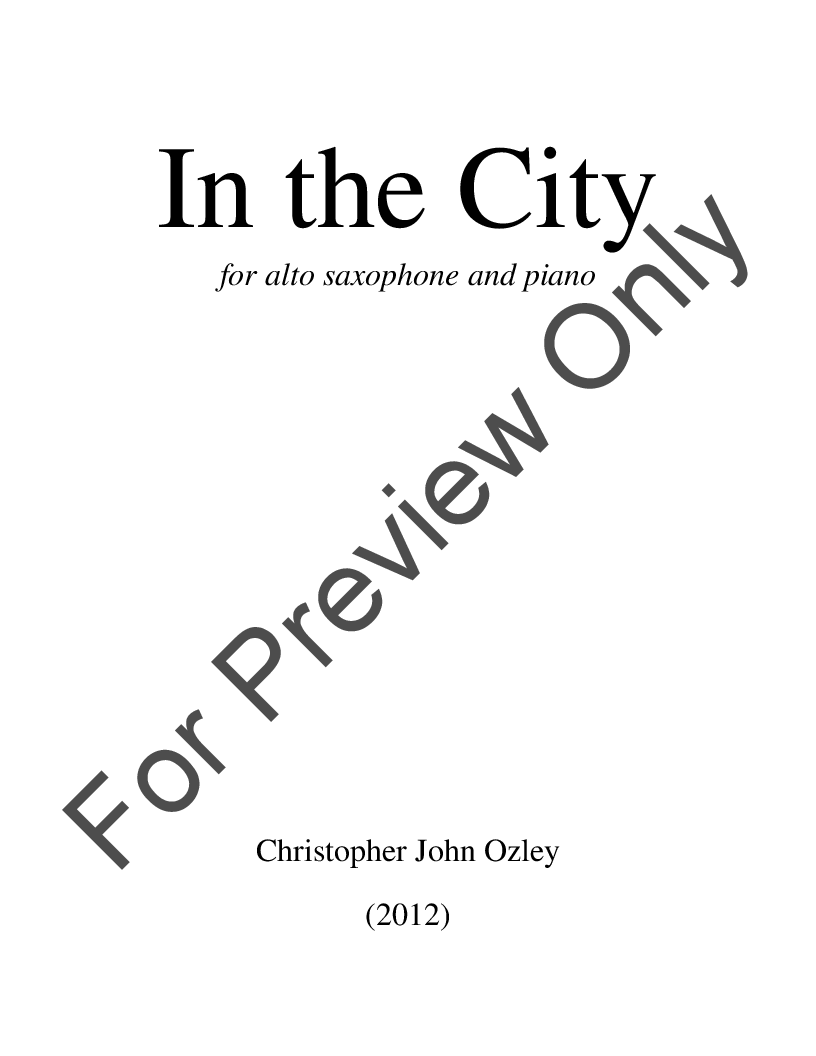 In the City Thumbnail