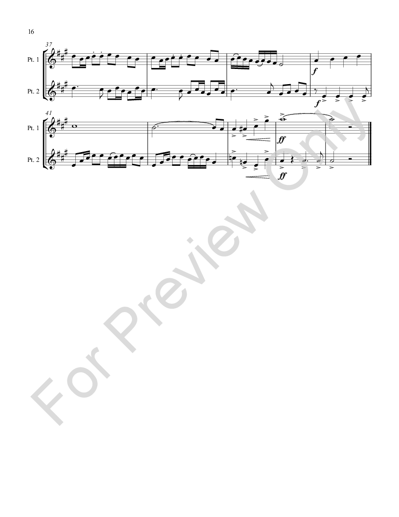 carol duets for all instruments Eb book Thumbnail