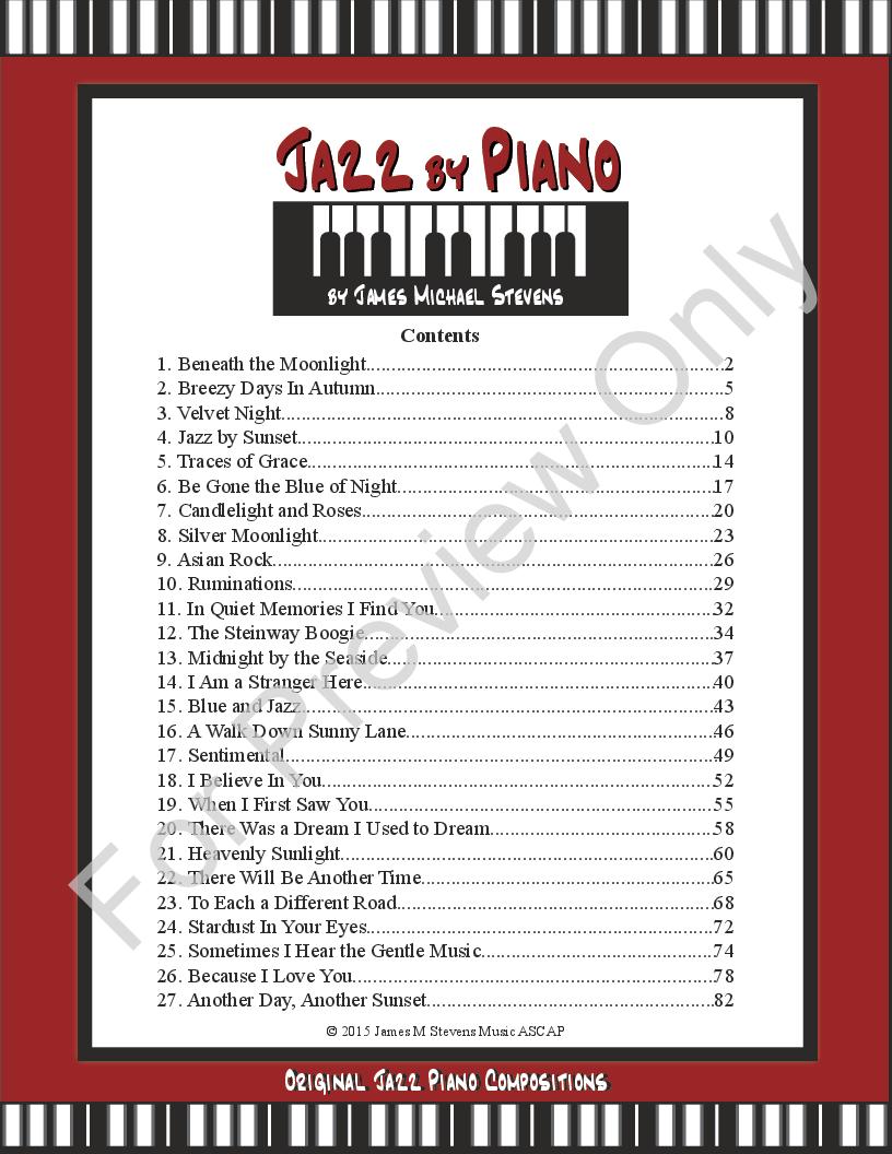 Jazz by Piano Thumbnail