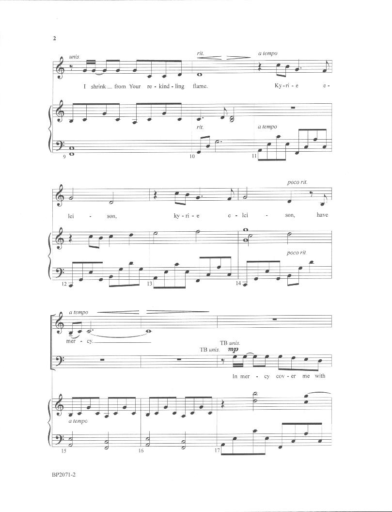 Mercy (SATB ) by Craig Courtney| J W  Pepper Sheet Music