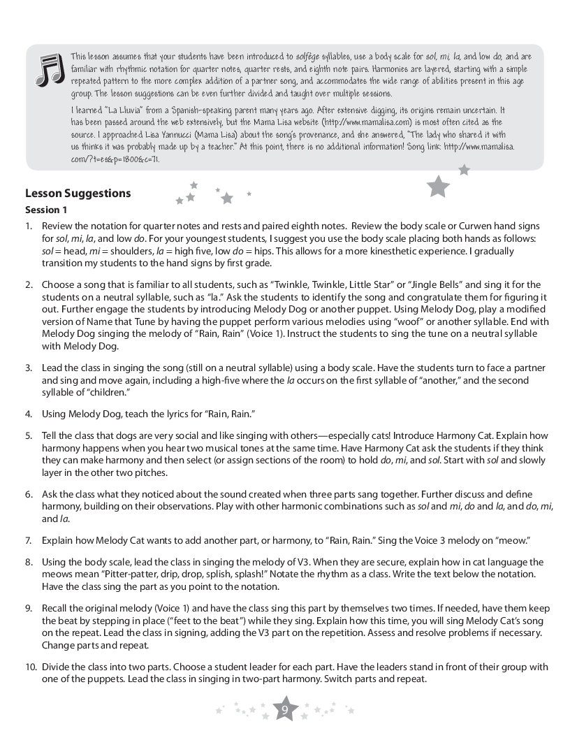Ten to Teach Harmony (Reproducible Book & Enhance | J W