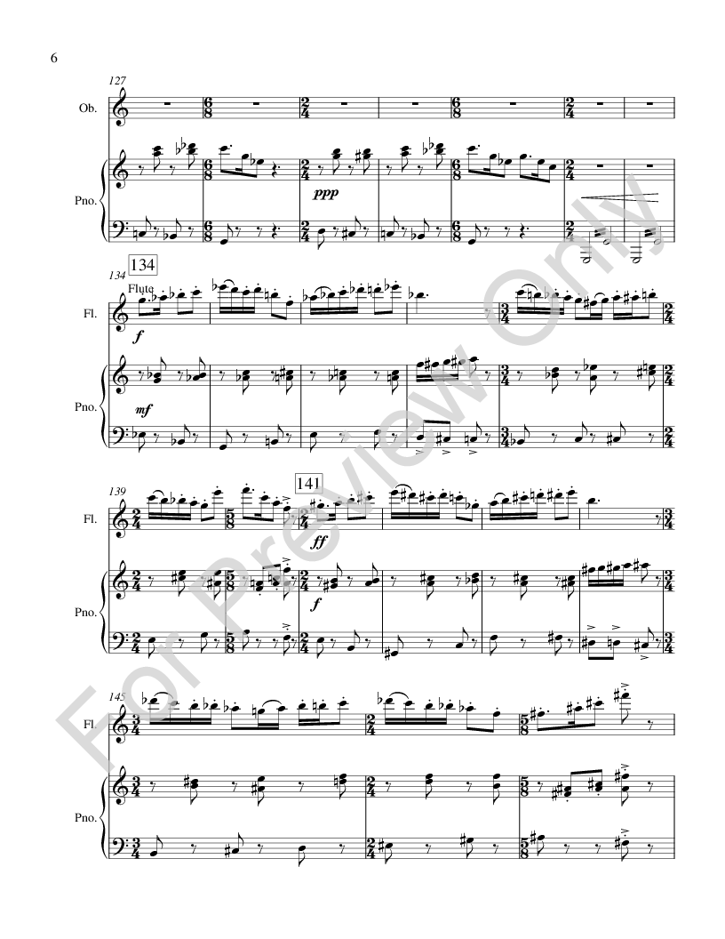 Galop for Multiple Woodwinds and Piano Thumbnail