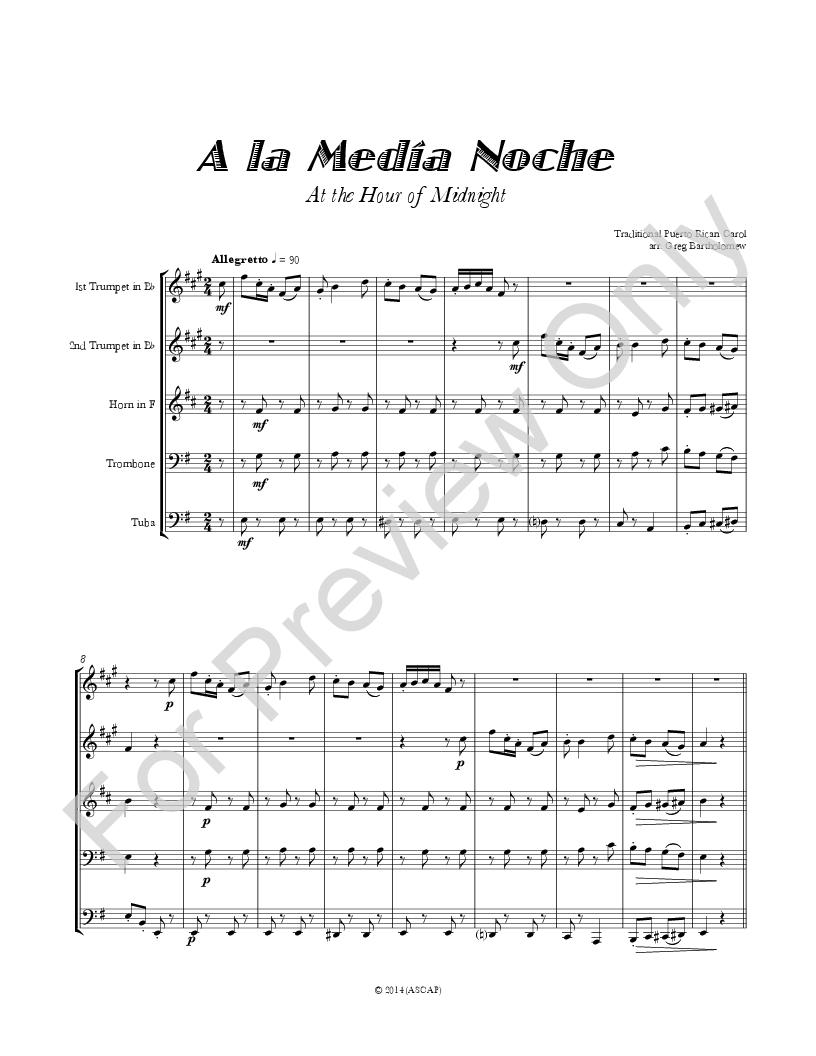 A la Media Noche (At Midnight) Thumbnail