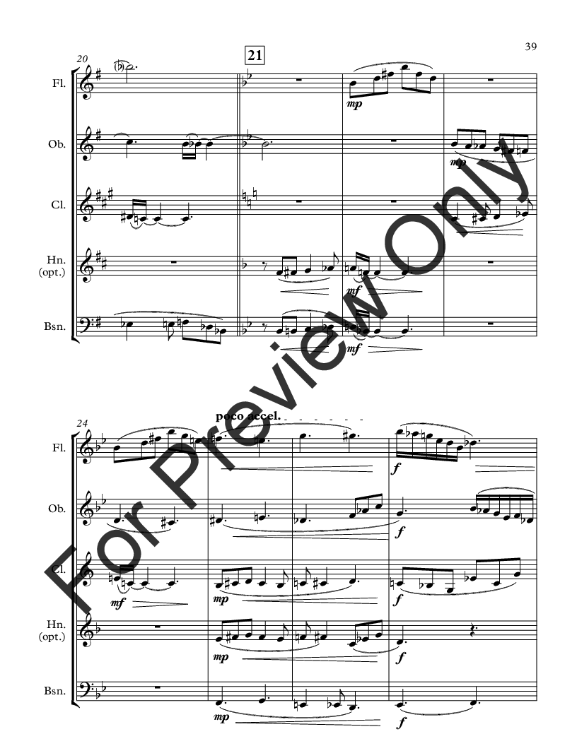 Wonderland for Woodwind Quintet Thumbnail