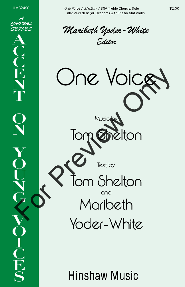 One Voice Thumbnail