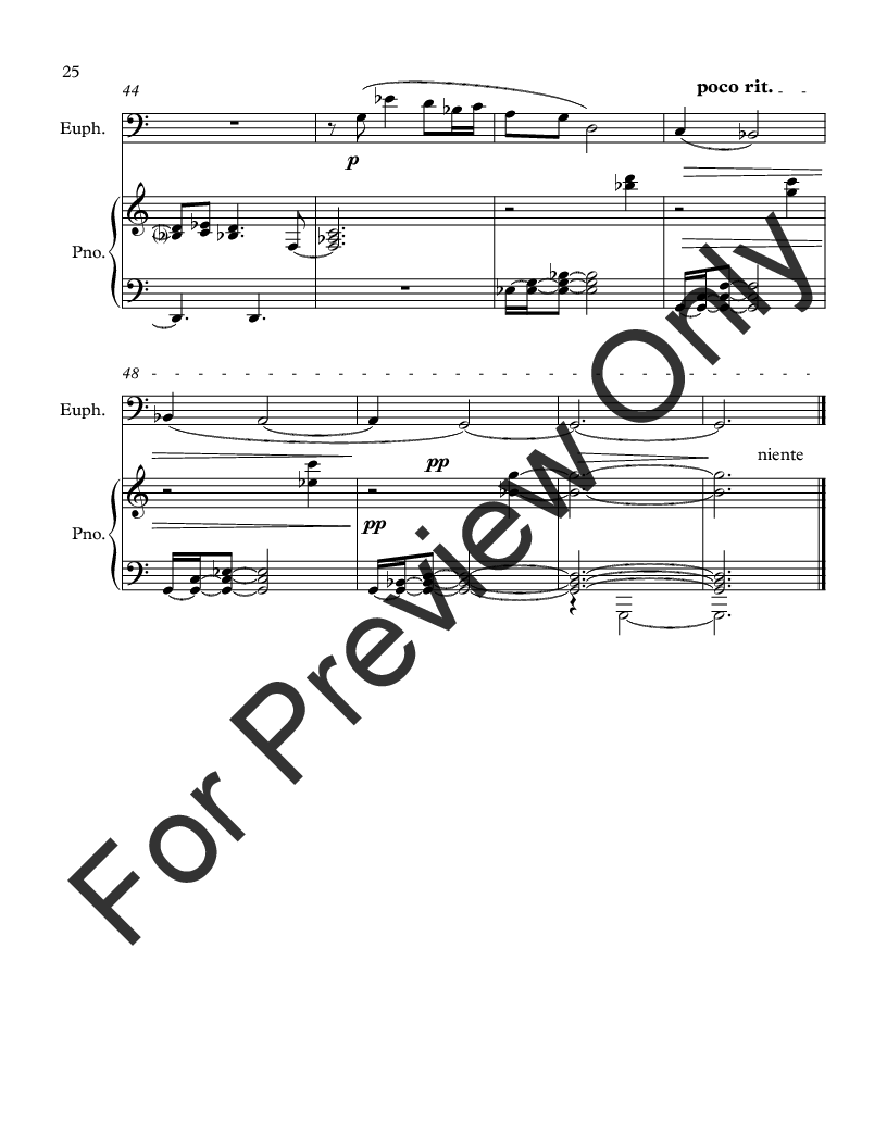 Intermezzi for Euphonium and Piano Thumbnail