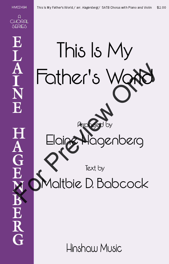 This Is My Father's World Thumbnail