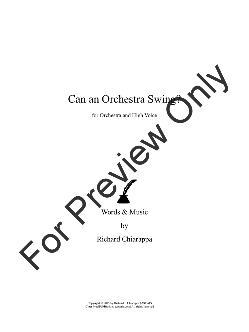 Can an Orchestra Swing? Thumbnail