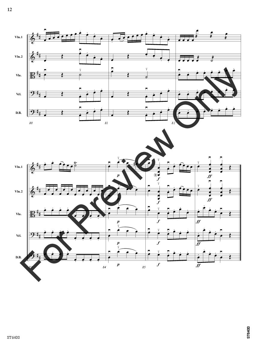 Presto from Symphony No.1 Thumbnail