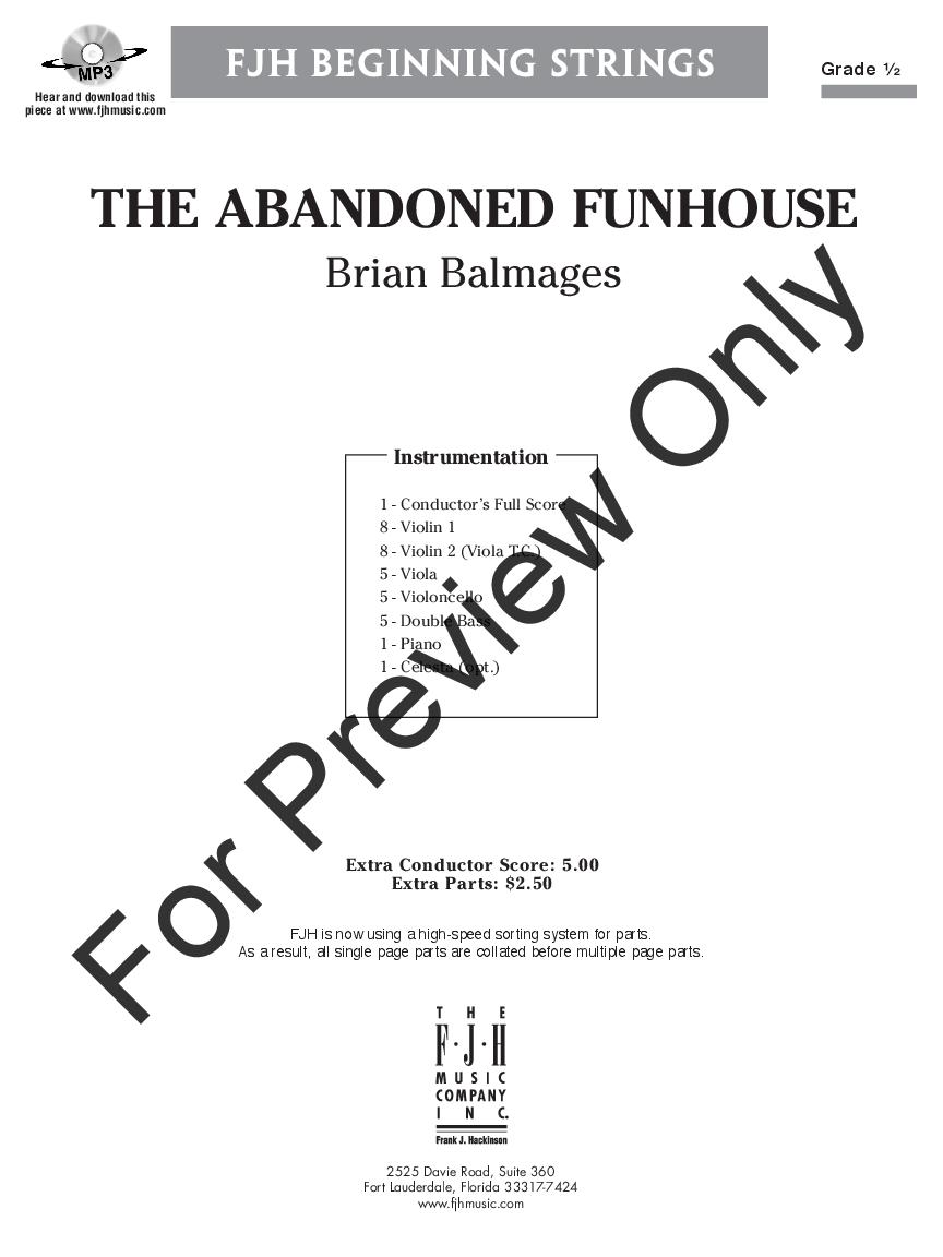 The Abandoned Funhouse Thumbnail