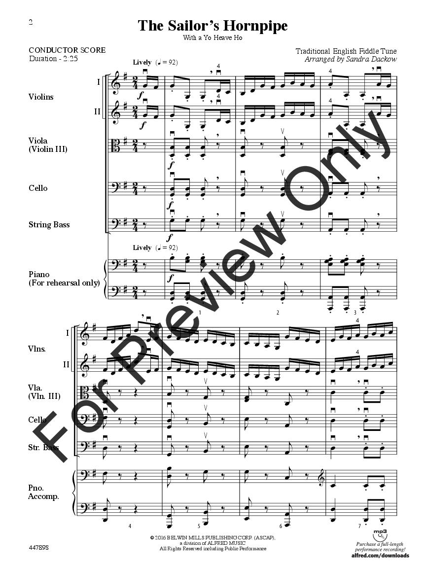 The Sailor's Hornpipe Thumbnail
