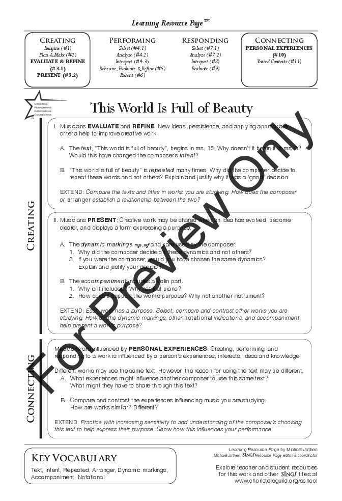 This World Is Full of Beauty Thumbnail