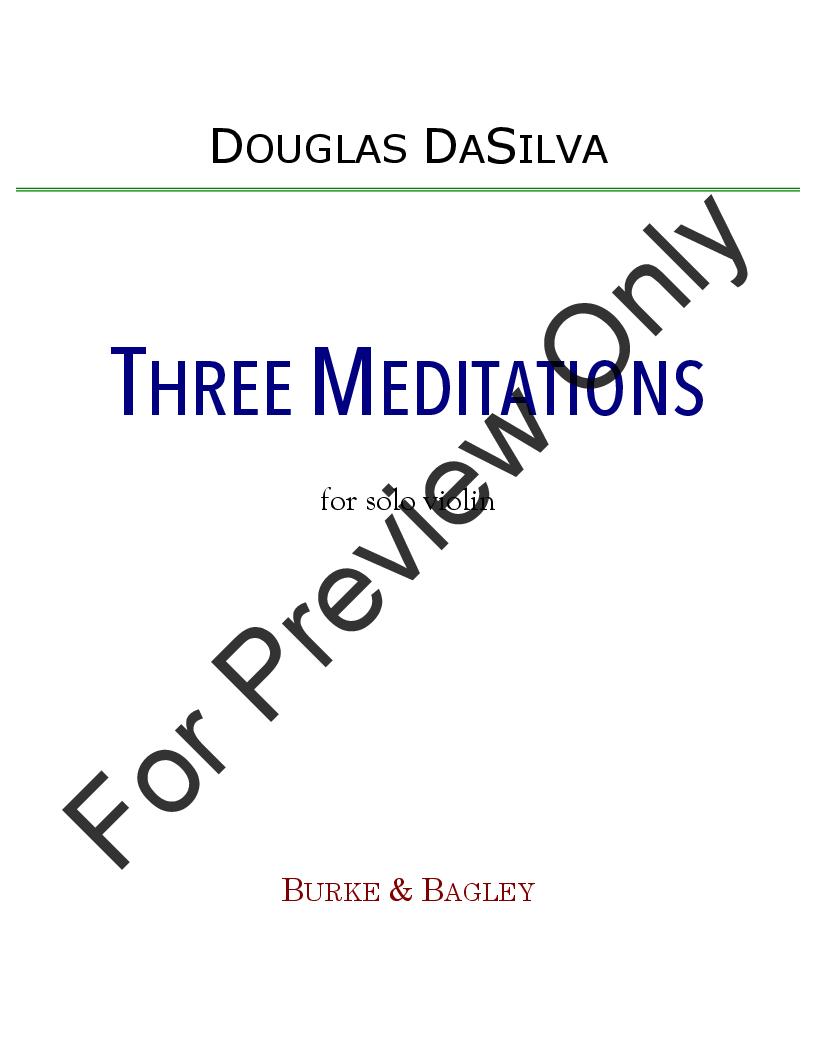 Three Meditations Thumbnail