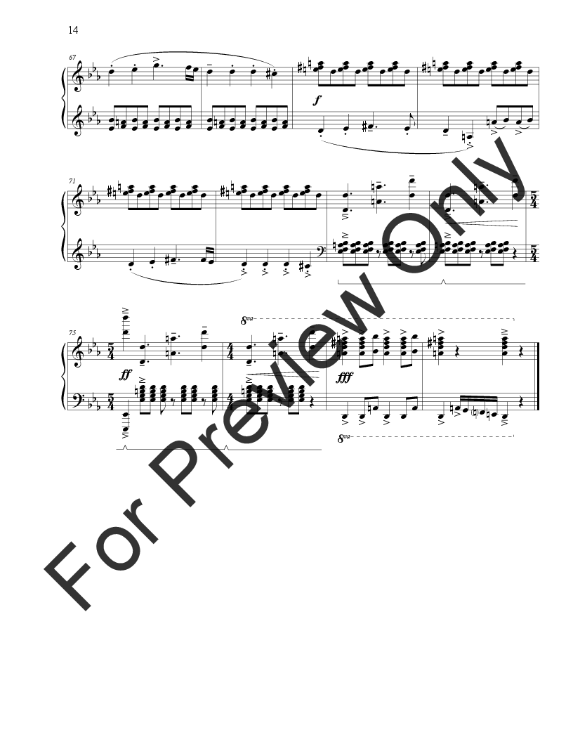 Three Pieces for Piano Thumbnail