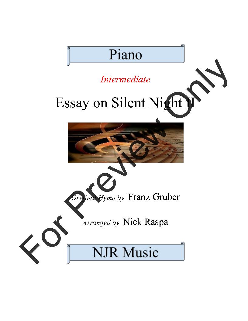 Essay on Silent Night II Thumbnail