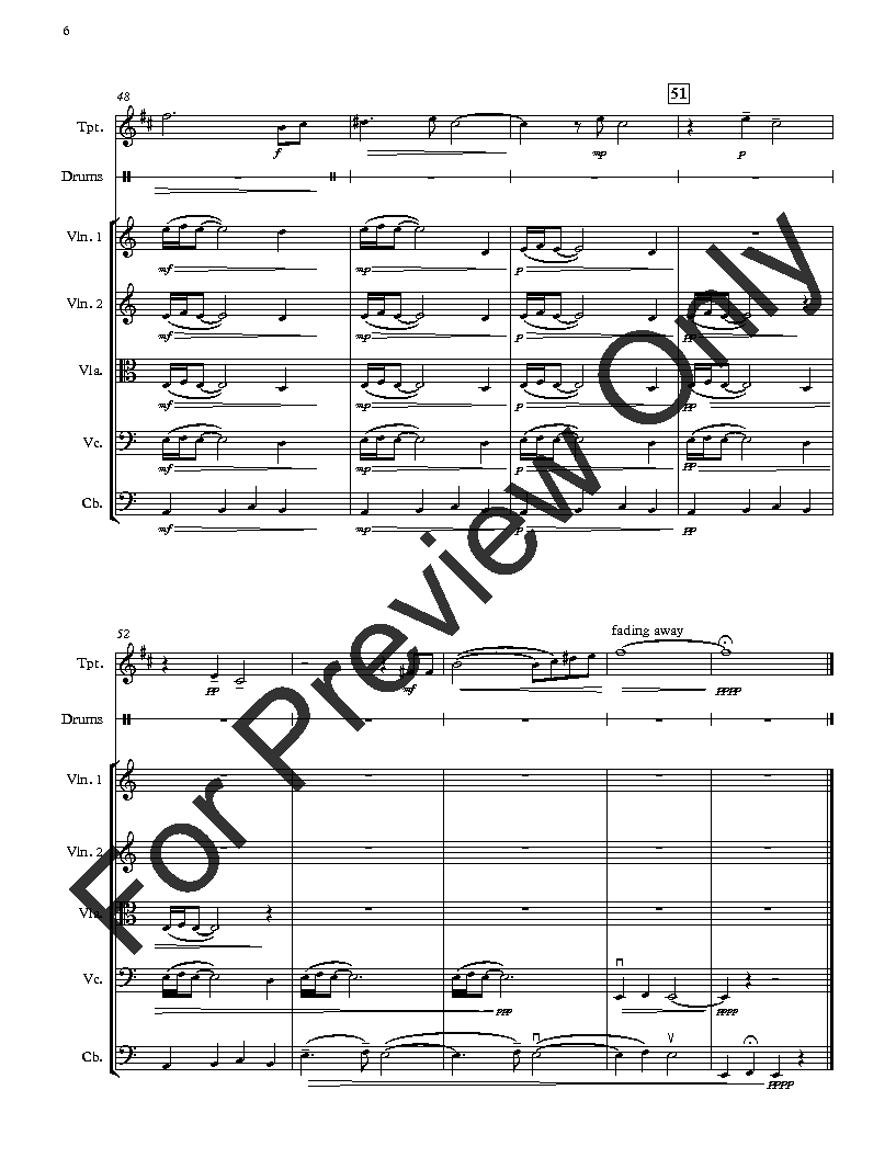 Elegy for Benghazi (for Strings, Trumpet & Drums) Thumbnail