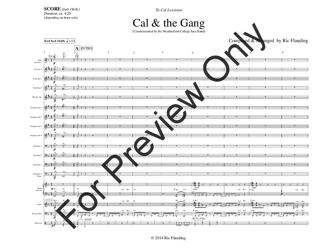 Cal & the Gang Thumbnail