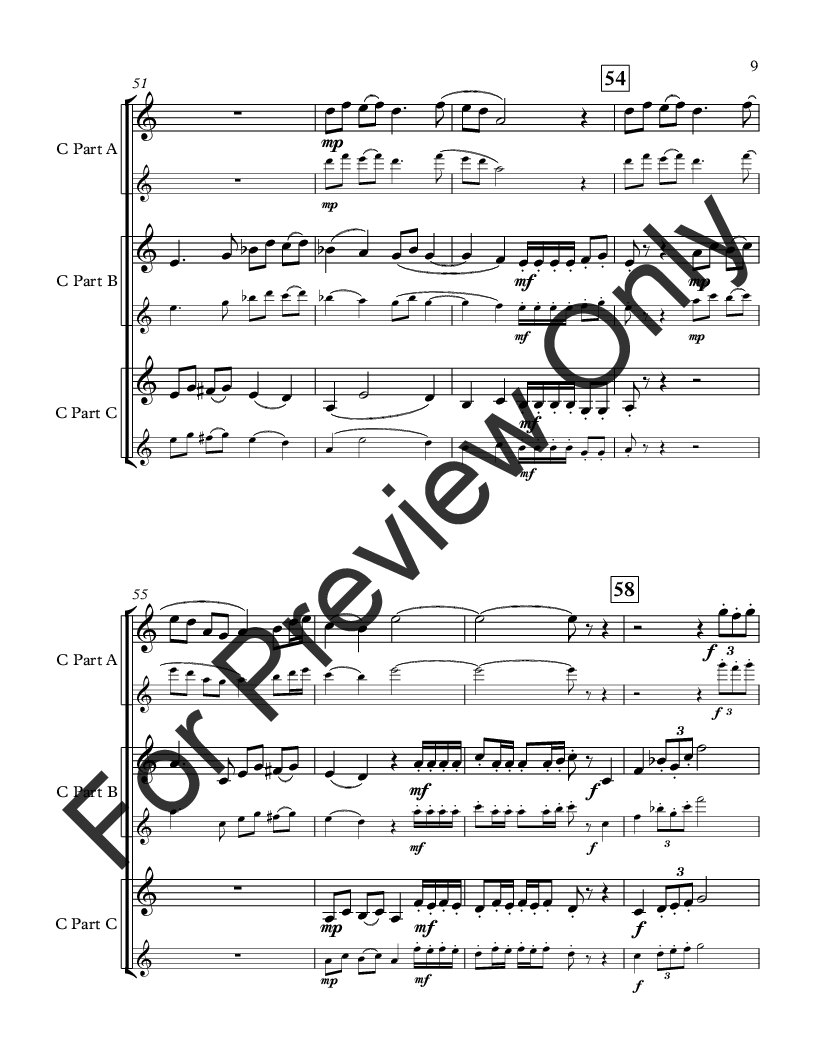 Movie Music for Mixed Trio C Instrument Version Thumbnail