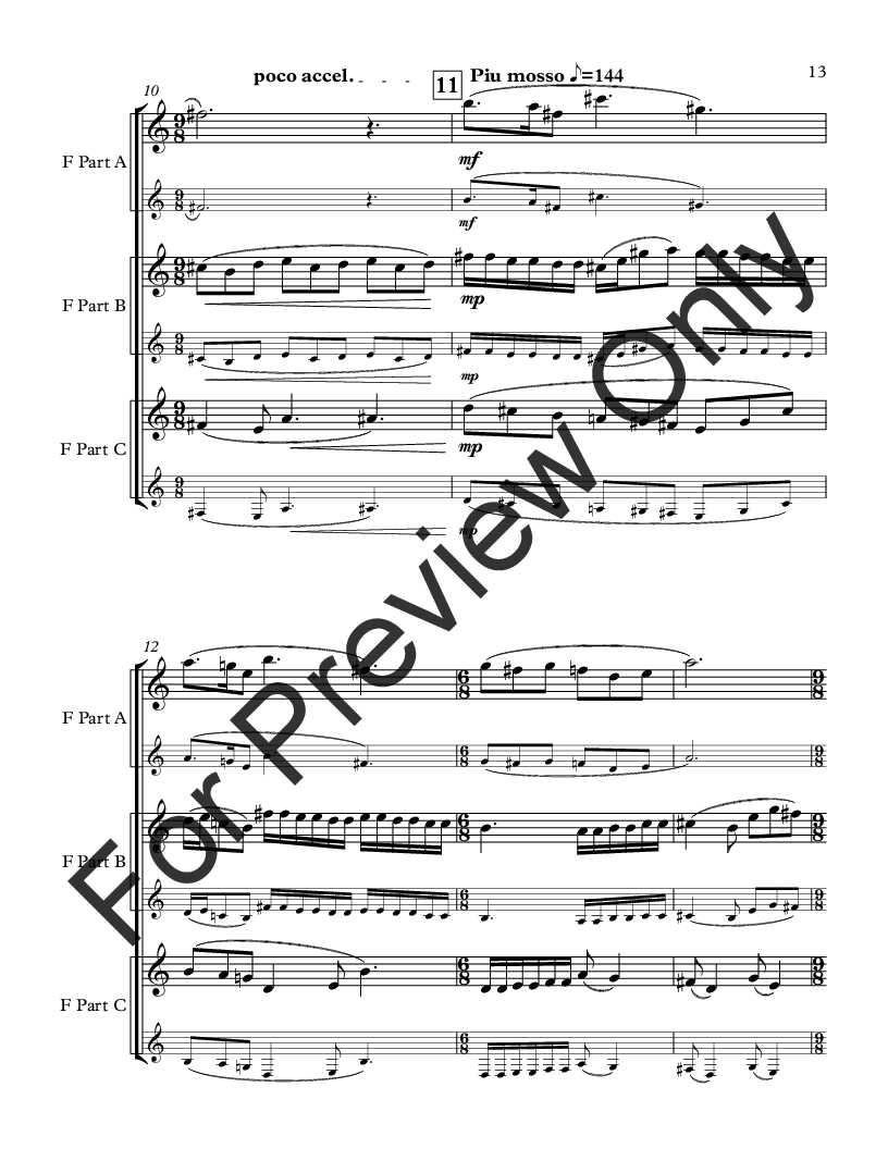 Movie Music for Mixed Trio F Instrument Version Thumbnail