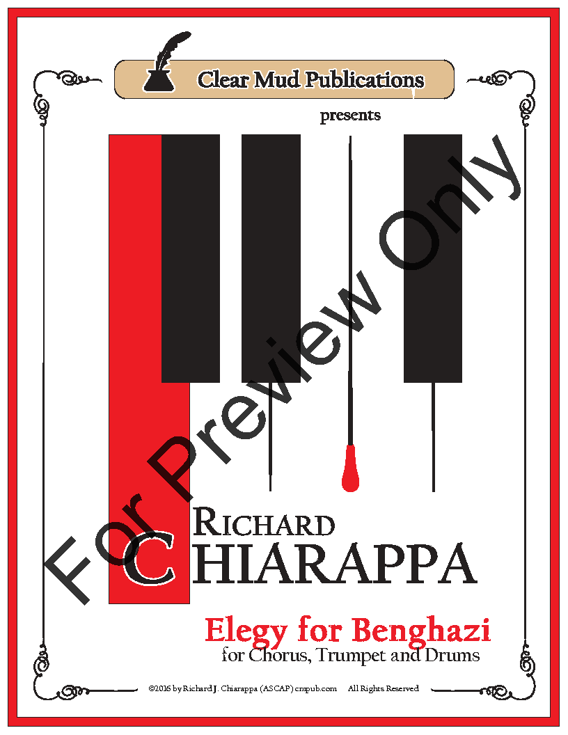 Elegy for Benghazi (for Chorus) Thumbnail