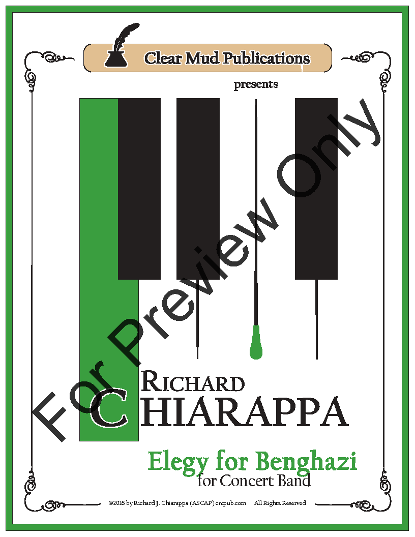 Elegy for Benghazi for Concert Band Thumbnail