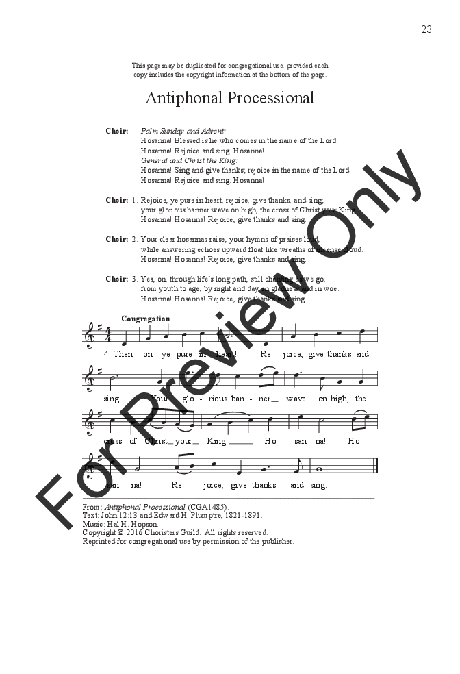 antiphonal praise satb with optional brass and antiphonal choir or organ