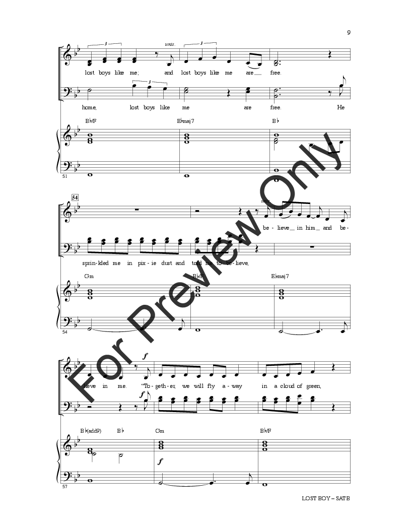 picture regarding Lost Boy Piano Sheet Music Free Printable referred to as Misplaced Boy (SATB ) by means of Ruth Berhe/arr. Mark Bry J.W. Pepper