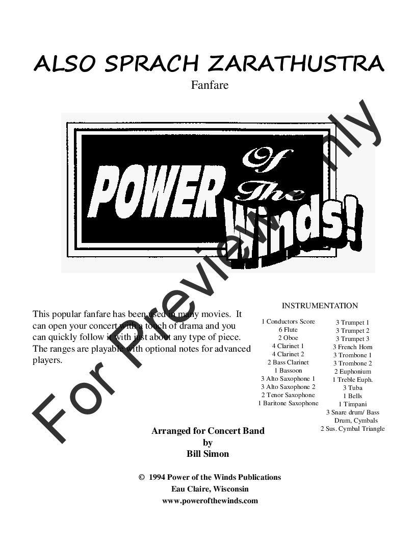 Also Sprach Zarathustra Thumbnail