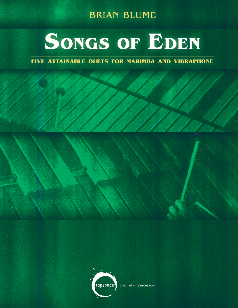 Songs of Eden (Keyboard Percussion Duet   J W  Pepper Sheet Music