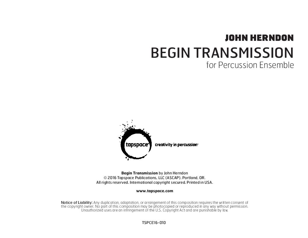 Begin Transmission Thumbnail