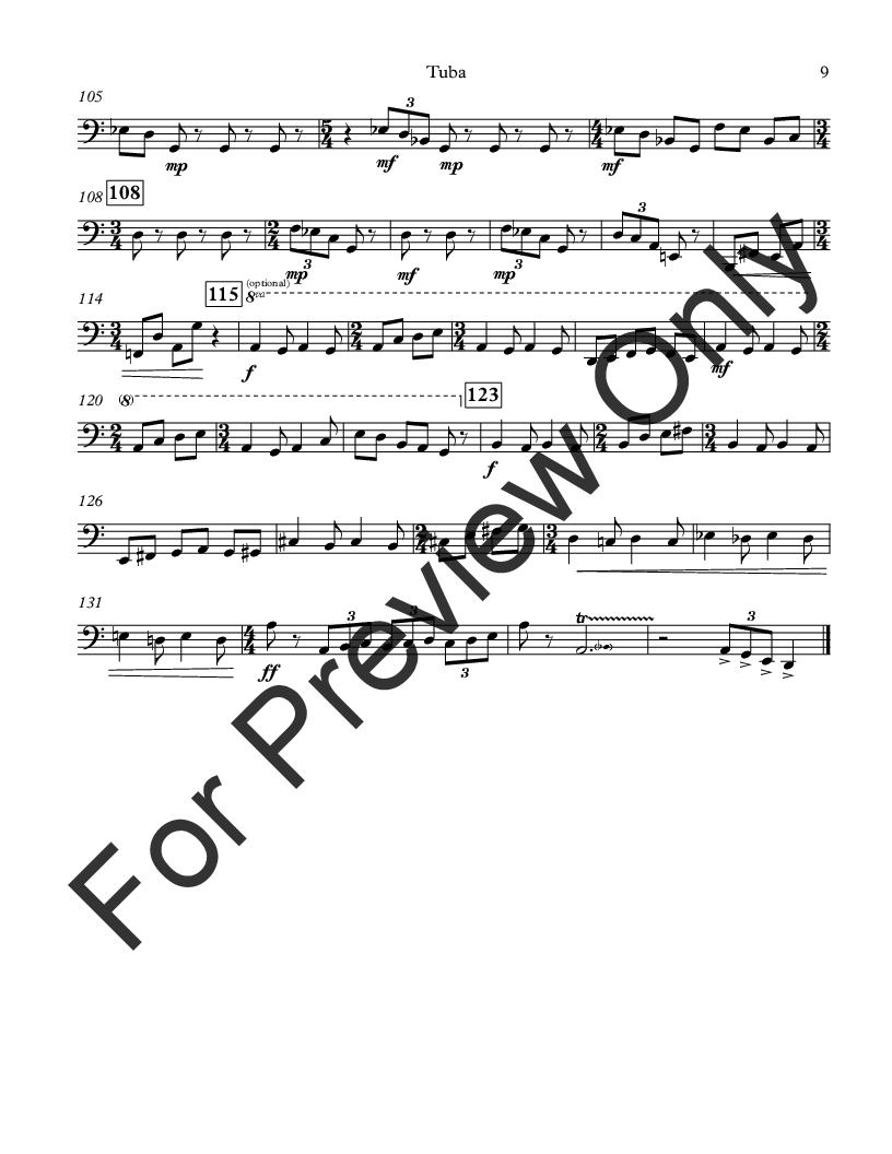 Sonatina for Unaccompanied Tuba Thumbnail